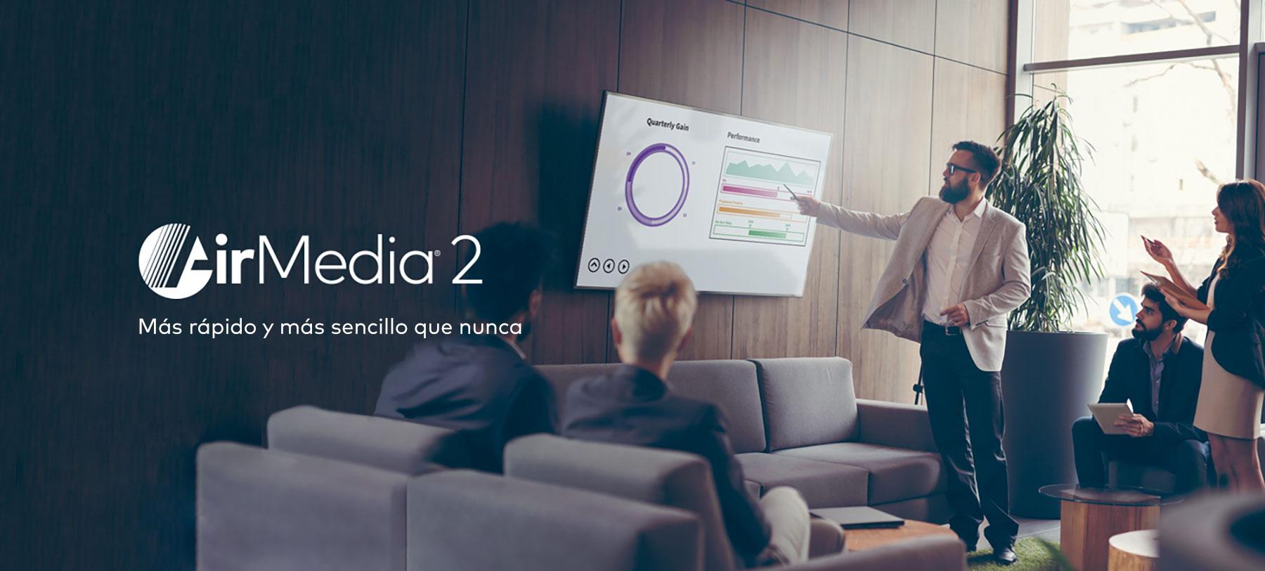 Tecnología de presentación: AirMedia 2.0, la vanguardia de Crestron