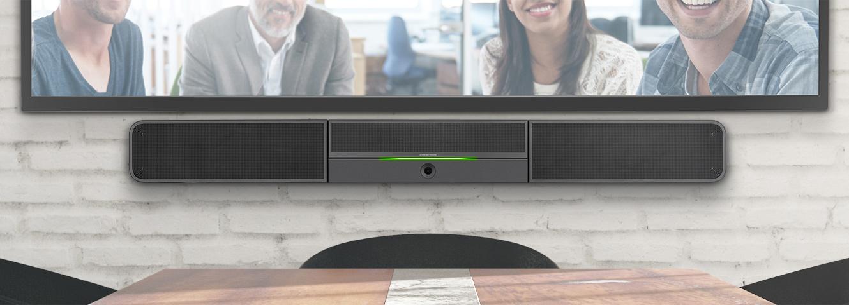 Soundbar UC-SB1-CAM, tu solución completa para videoconferencias